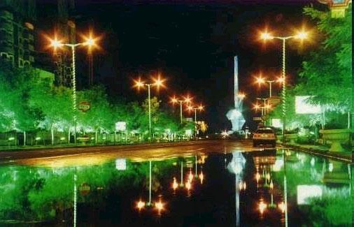 利川市市政道路照明