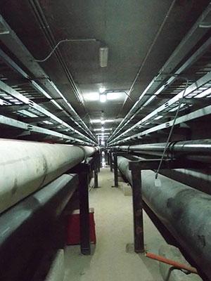 三门核电站DN762 SDR9聚乙烯管电熔接头检测
